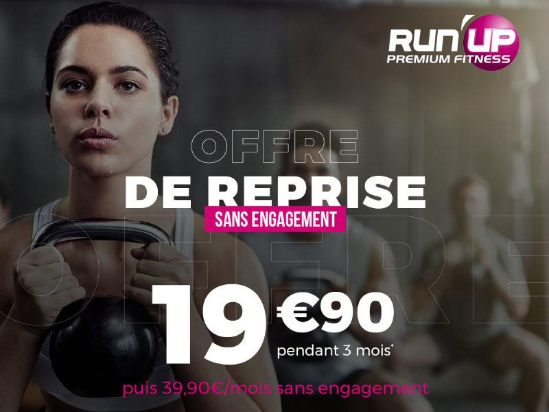 Offre reprise Run'Up